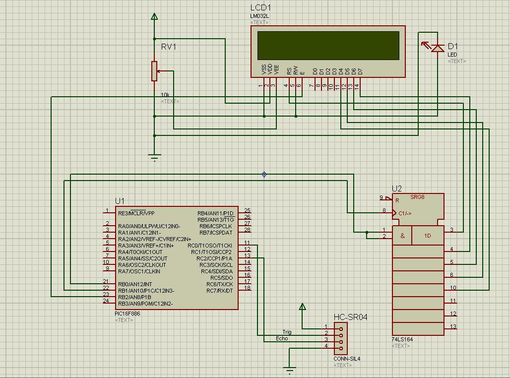 Medidor de distancia por ultrasonidos con pic16f886 blog - Medidor de distancia ...