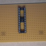 Paso 1 en la construcción de placa entrenadora 30F4012