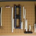 Paso 3 en la construcción de placa entrenadora 30F4012