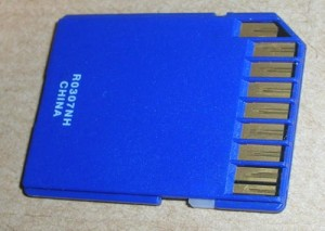 Tarjeta de memoria SD
