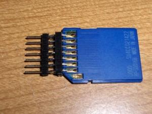Soldar un conector para una SD a partir de tiras de pines