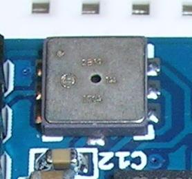 Sensor presión y temperatura I2C